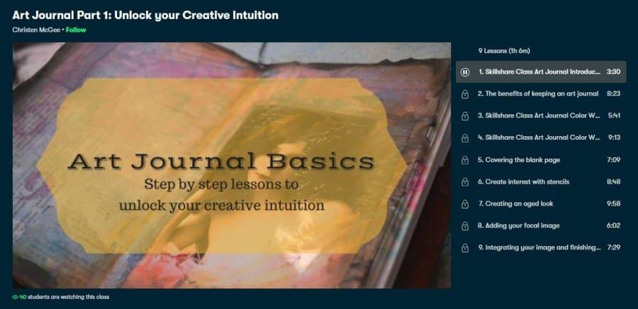 Art Journal Part 1: Unlock your Creative Intuition