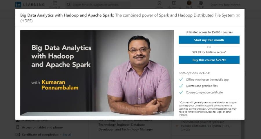 Big Data Analytics with Hadoop and Apache Spark