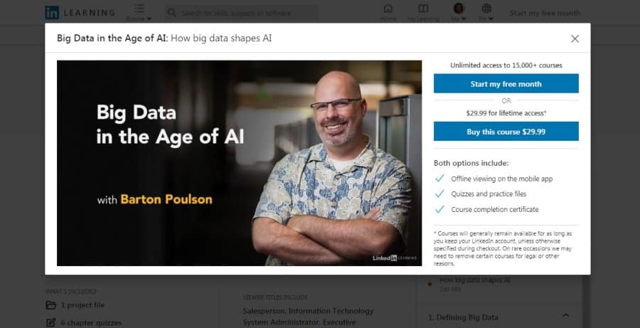 Big Data in the Age of AI