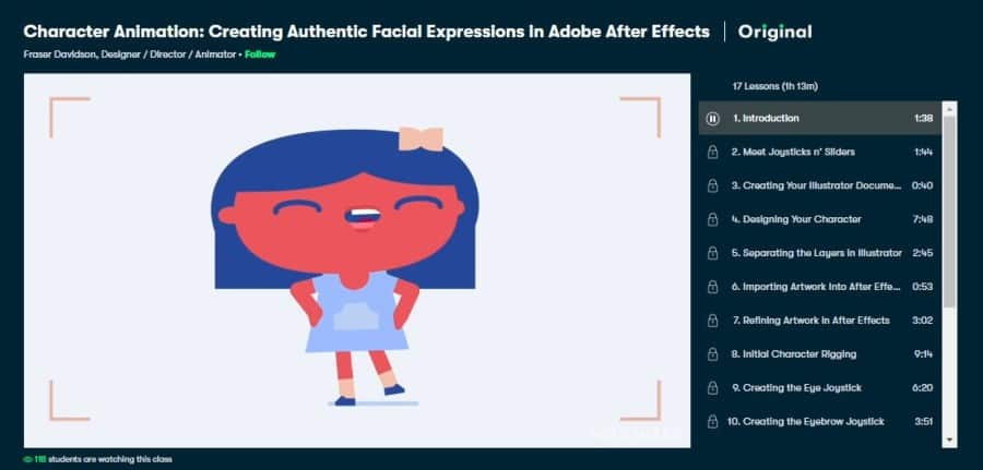Character Animation: Creating Authentic Facial Expressions in Adobe After Effects