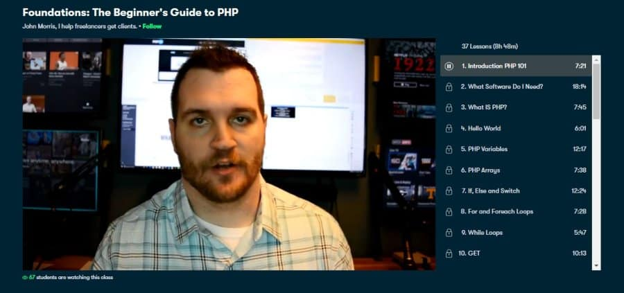 Foundations: The Beginner's Guide to PHP