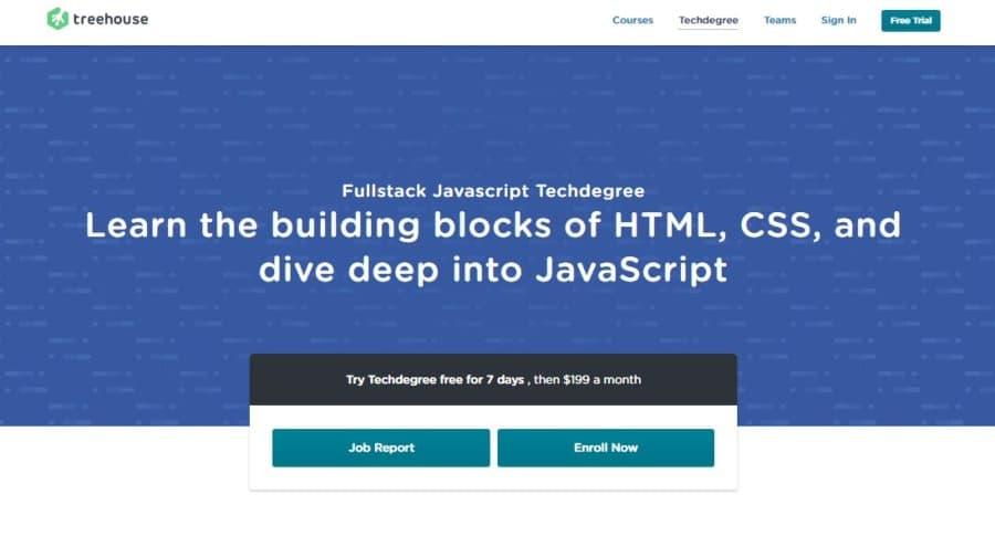 Full-stack Javascript Techdegree