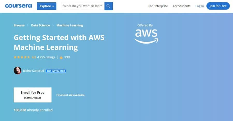 Getting Started with AWS Machine Learning