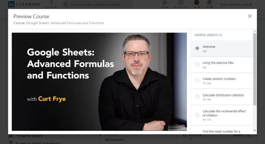 Google Sheets: Advanced Formulas and Functions