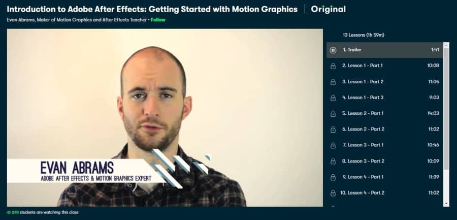 Introduction to Adobe After Effects: Getting Started with Motion Graphics