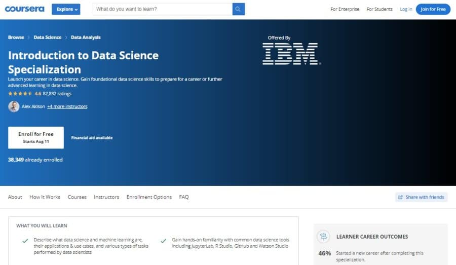Introduction to Data Science - Specialization