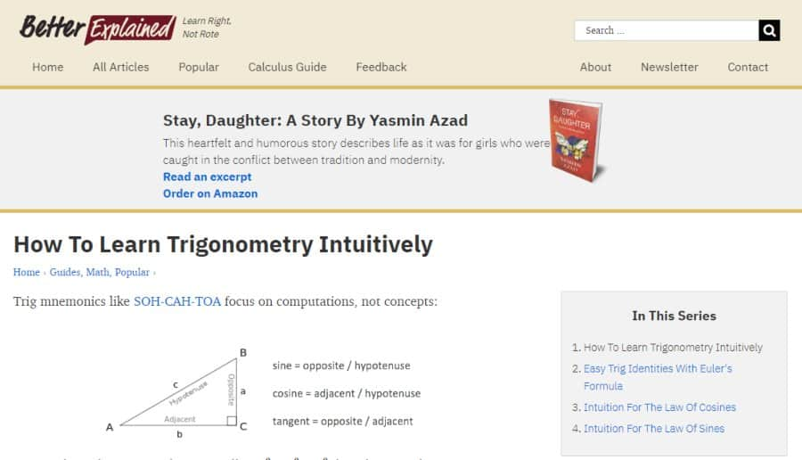 Intuitive Trigonometry