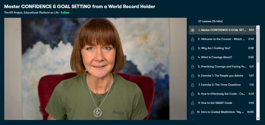 Master CONFIDENCE & GOAL SETTING from a World Record Holder
