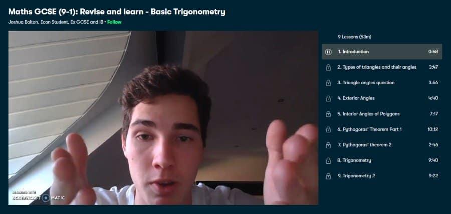 Maths GCSE (9-1): Revise and learn – Basic Trigonometry