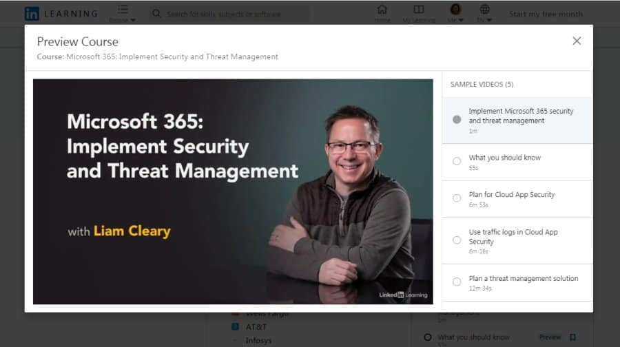 Microsoft 365: Implement Security and Threat Management