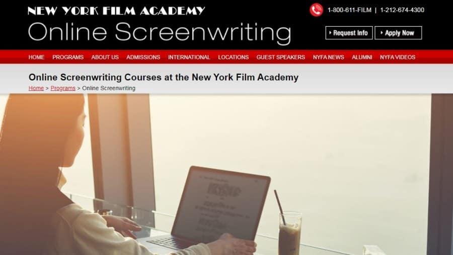 New York Film Academy Online Screenwriting