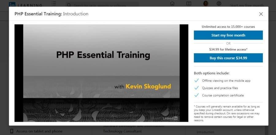 PHP Essential Training