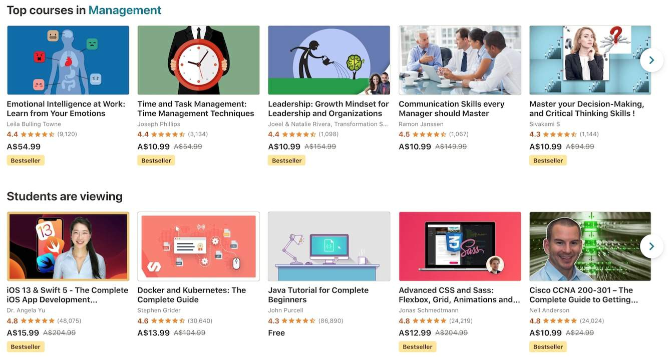 Udemy Has a The BIGGEST Range Of Courses
