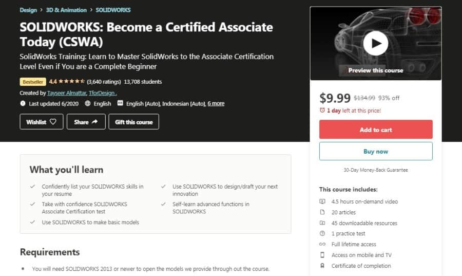 SolidWorks_ Become a Certified Associate Today – CSWA