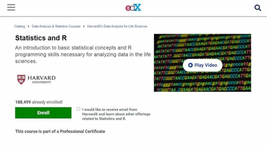 Statistics and R