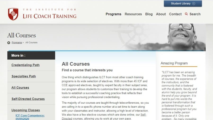 The Institute for Life Coach Training