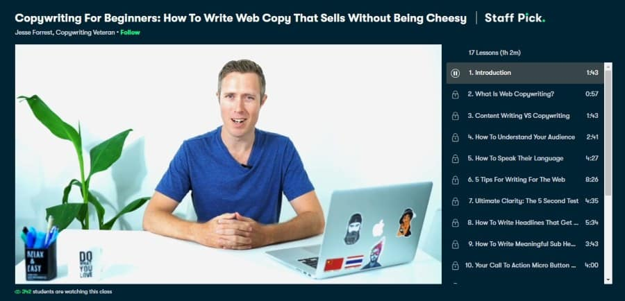Copywriting For Beginners: How To Write Web Copy That Sells Without Being Cheesy