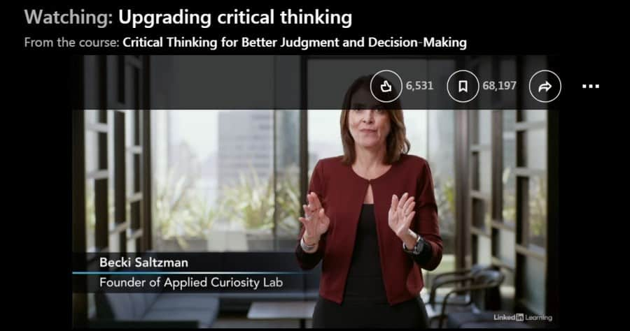 Critical Thinking for Better Judgment and Decision-Making
