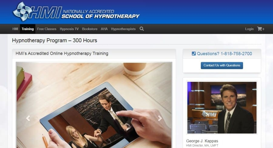 HMI's Accredited Online Hypnotherapy Training
