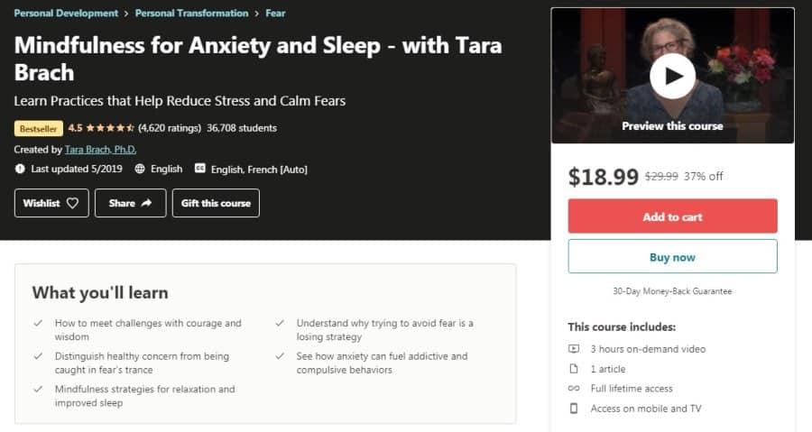 Mindfulness for Anxiety and Sleep - with Tara Brach