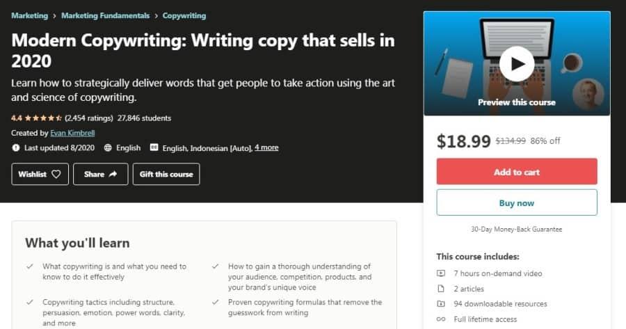 Modern Copywriting: Writing copy that sells in 2020