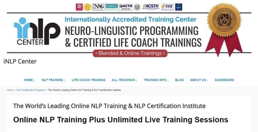 Online NLP Training & NLP Certification Institute