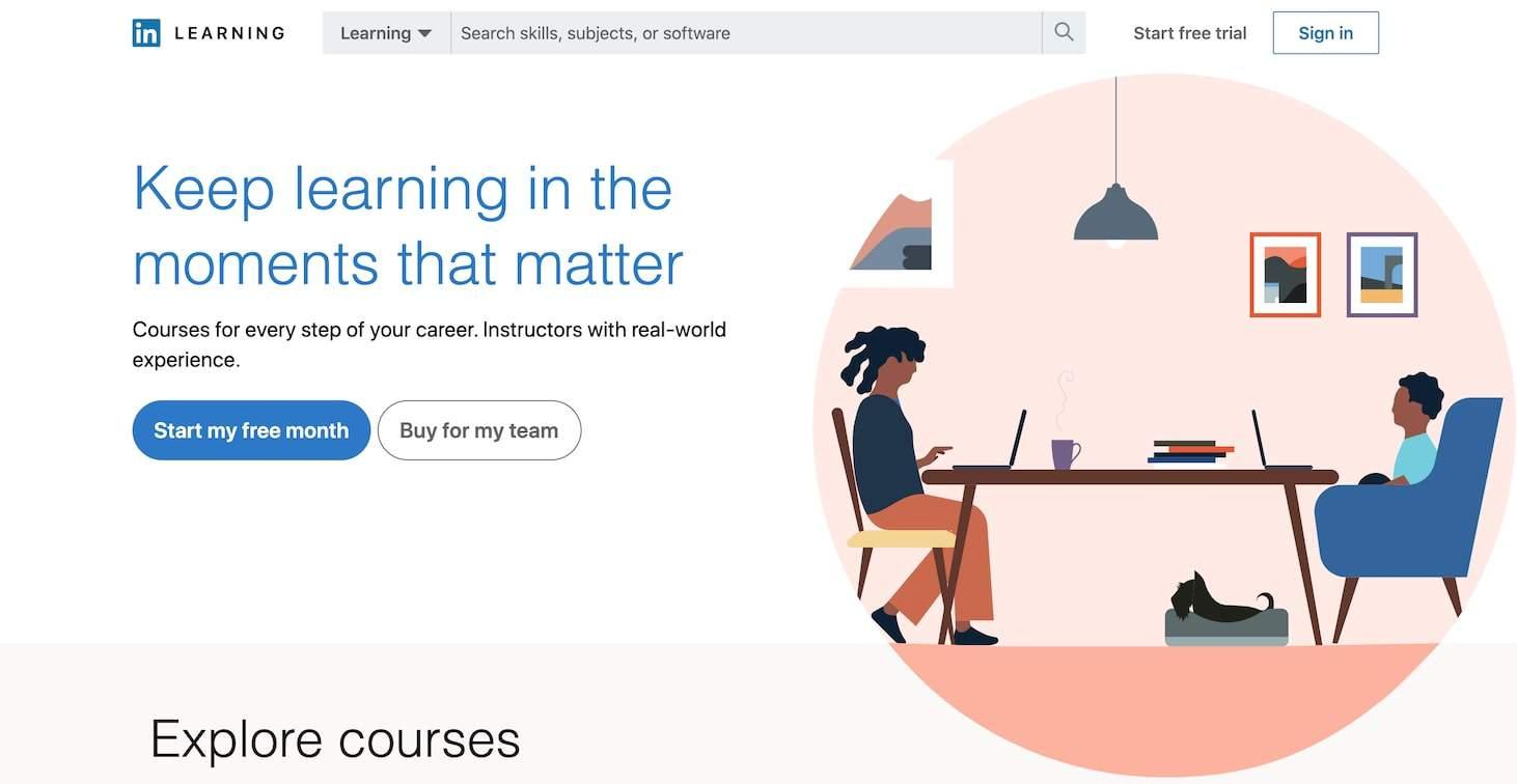 companies using LinkedIn Learning