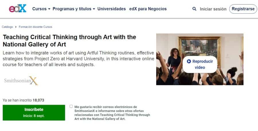 Teaching Critical Thinking through Art with the National Gallery of Art