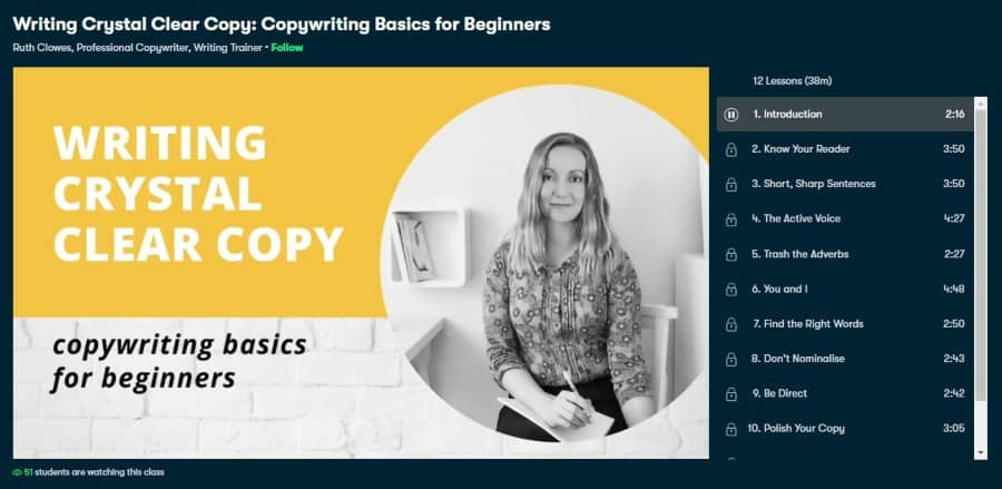 Writing Crystal Clear Copy: Copywriting Basics for Beginners
