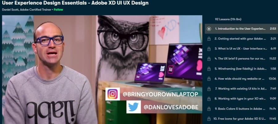 1. User Experience Design Essentials - Adobe XD UI UX Design (Skillshare)