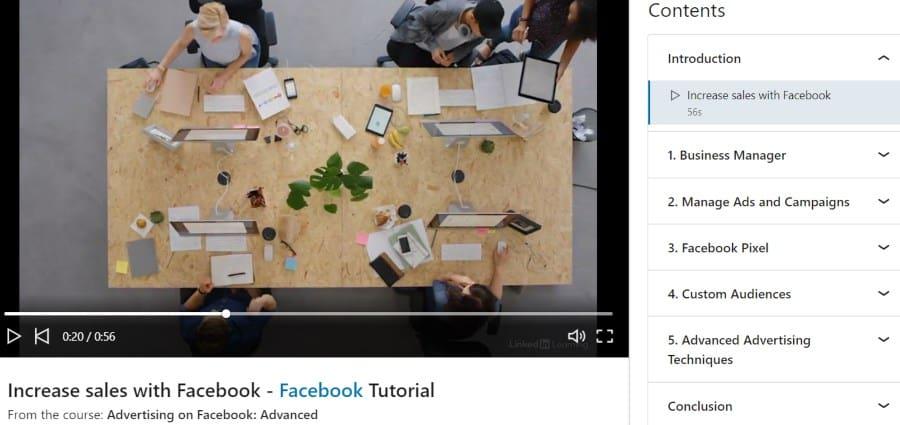 10. Advertising on Facebook Advanced (LinkedIn Learning)