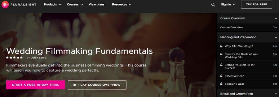 11. Wedding Filmmaking Fundamentals (Pluralsight)