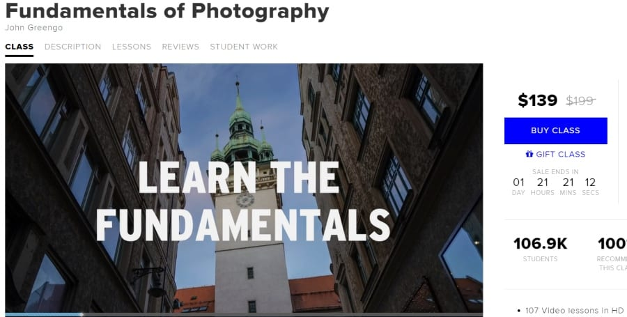 12. Fundamentals of Photography (CreativeLive)