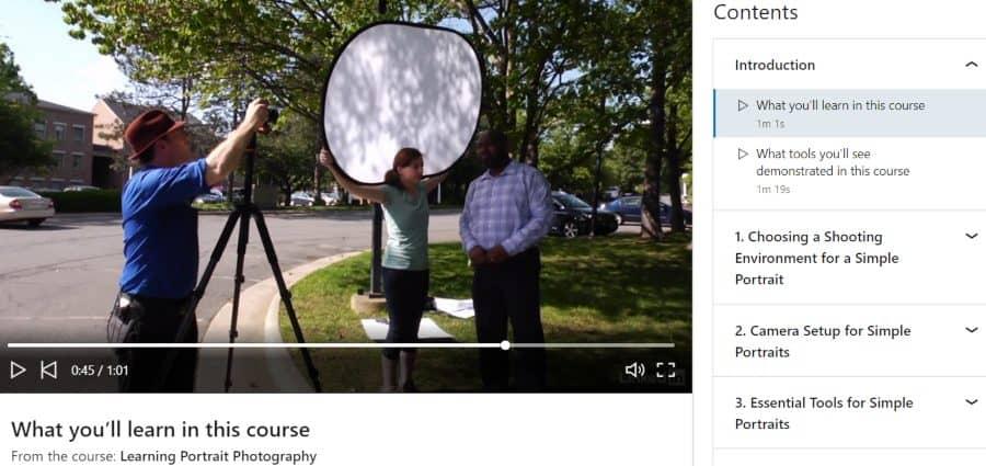 14. Learning Portrait Photography (LinkedIn Learning)