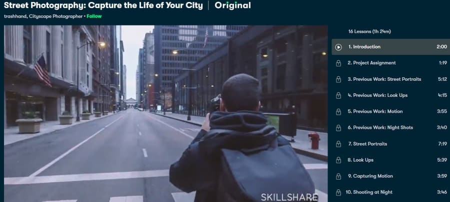 4. Street Photography Capture the Life of Your City (Skillshare)