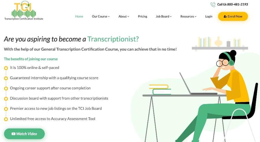 6. General Transcription Certification Course (TCI)