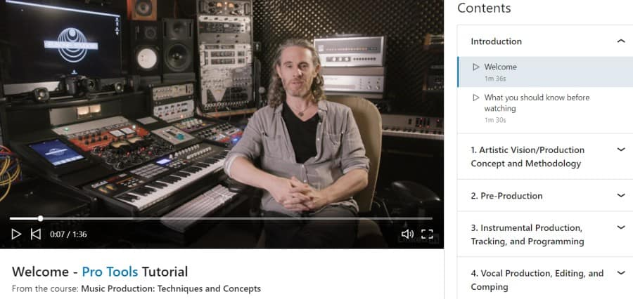6. Music Production Techniques and Concepts (LinkedIn Learning)