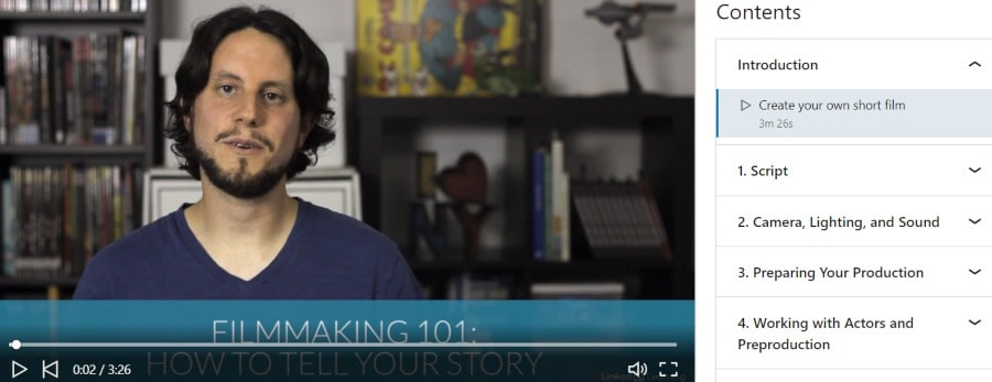 7. Making a Short Film Start to Finish (LinkedIn Learning)