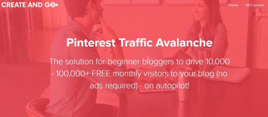 7. Pinterest Traffic Avalanche (Create and Go)