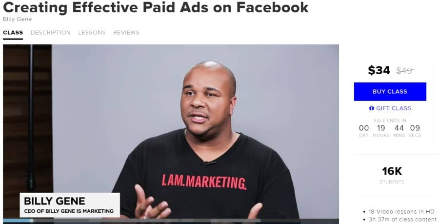 9. Creating Effective Paid Ads on Facebook (CreativeLive)