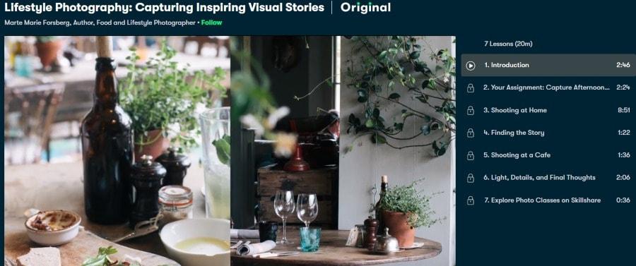 9. Lifestyle Photography Capturing Inspiring Visual Stories (Skillshare)