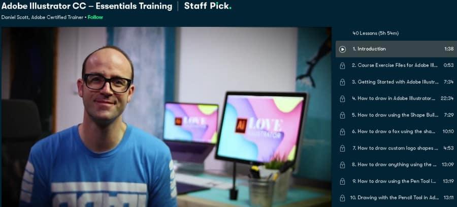 Adobe Illustrator CC – Essentials Training (Skillshare)