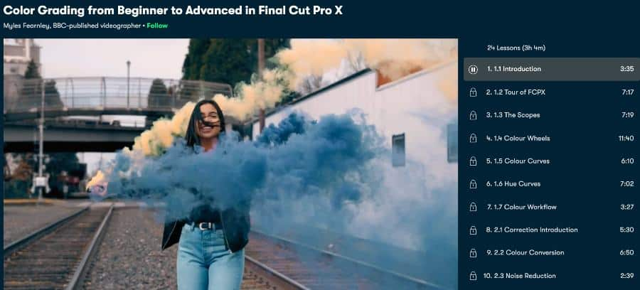Color Grading from Beginner to Advanced in Final Cut Pro X