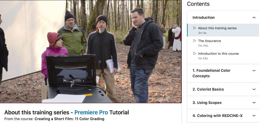 Creating a Short Film_ 11 Color Grading