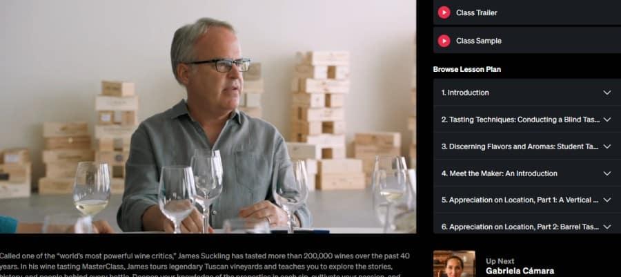 James Suckling – Teaches Wine Appreciation (MasterClass)