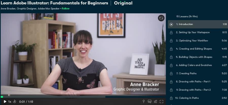 Learn Adobe Illustrator Fundamentals for Beginners (Skillshare)