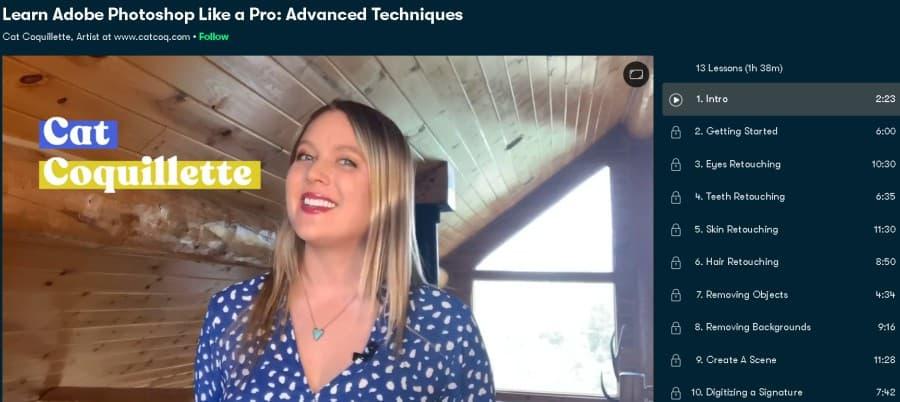Learn Adobe Photoshop Like a Pro Advanced Techniques (Skillshare)