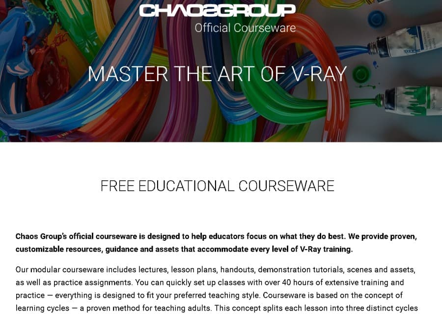 Master the Art of V-Ray (ChaosGroup)