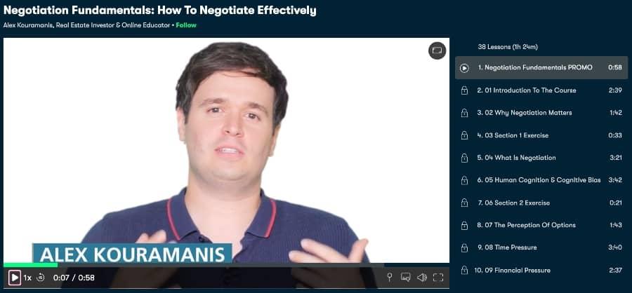 Negotiation Fundamentals How To Negotiate Effectively (Skillshare)