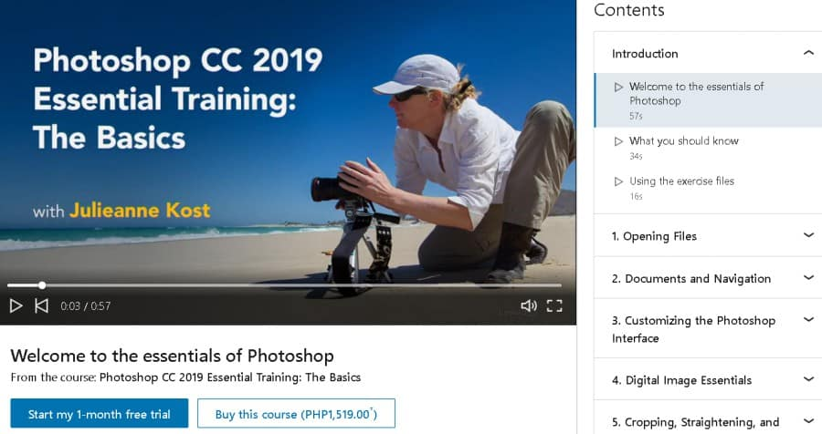Photoshop CC 2019 Essential Training The Basics (LinkedIn Learning)